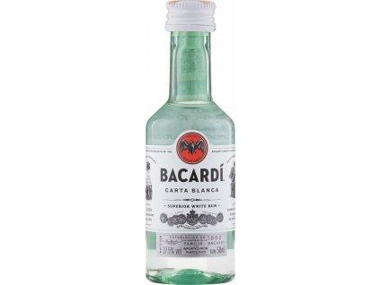 Bacardi Carta Blanca Mini