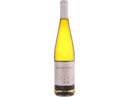 Žitavské vinice Pinot Gris, Nitrianska oblasť, r2020, akostné víno, biele, suché 0,75L