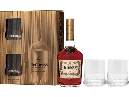 Hennessy VS + 2 poháre