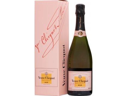 Veuve Clicquot Rosé v darčekové balenieiku