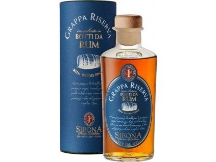 Grappa Riserva Rum Wood Finish 44% 0,50 L