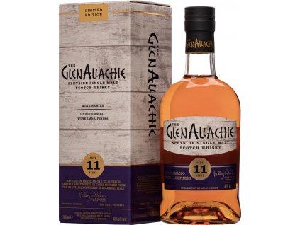 The GlenAllachie 11 ročná Grattamacco Wine Cask Finish