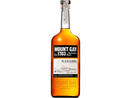 Mount Gay Black Barrel 43% 0,70 L