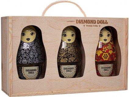 Set Diamond Doll v drevenej krabici