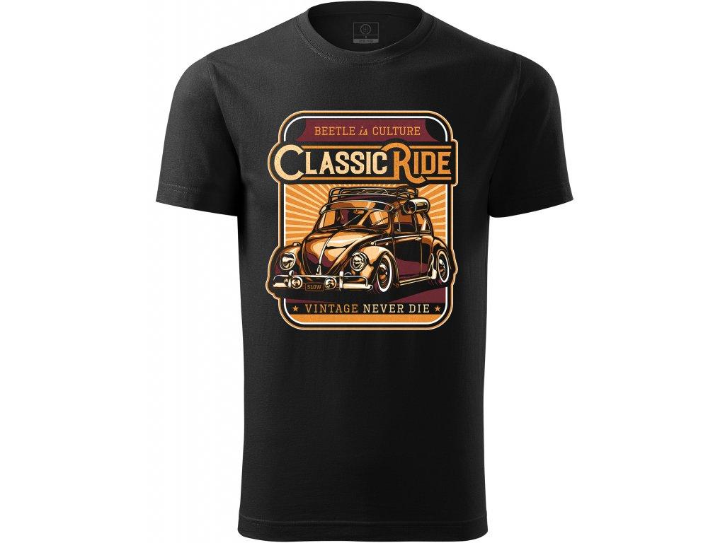 WV Beetle Classic ride
