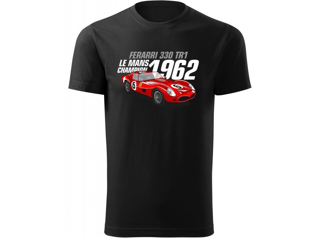 Pánské tričko 1962 Ferrari 330 TR1