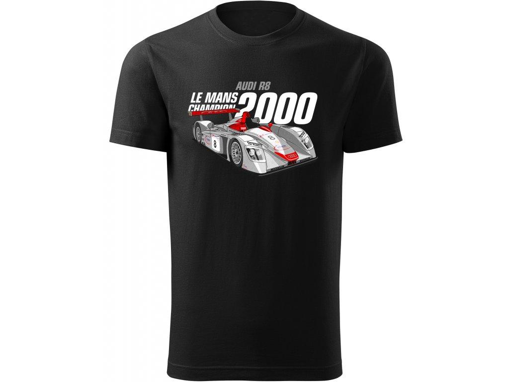 2000 Audi R8 cerny