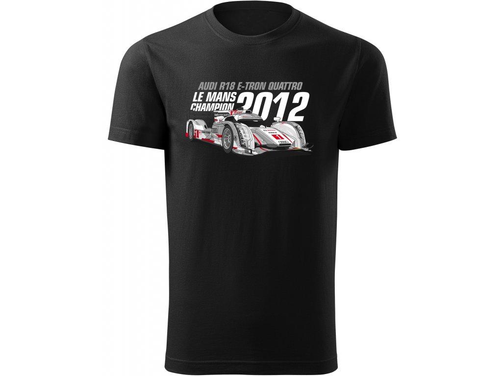 2012 Audi R18 E tron Quattro cerny