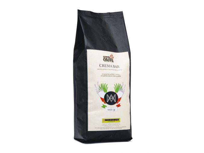 Cerstve prazena zrnkova kava citta del caffe crema bar 50 50 produkt