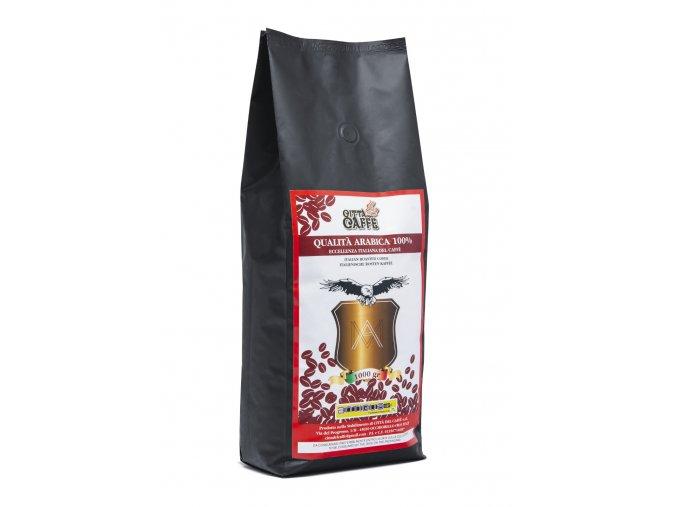 Cerstve prazena zrnkova kava citta del caffe 100 Arabica produkt