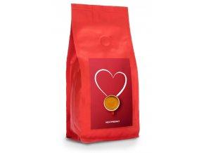 Cerstve prazena zrnkova kava citta del caffe srdce produkt