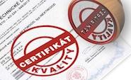 Naše zboží je řádně certifikováno!