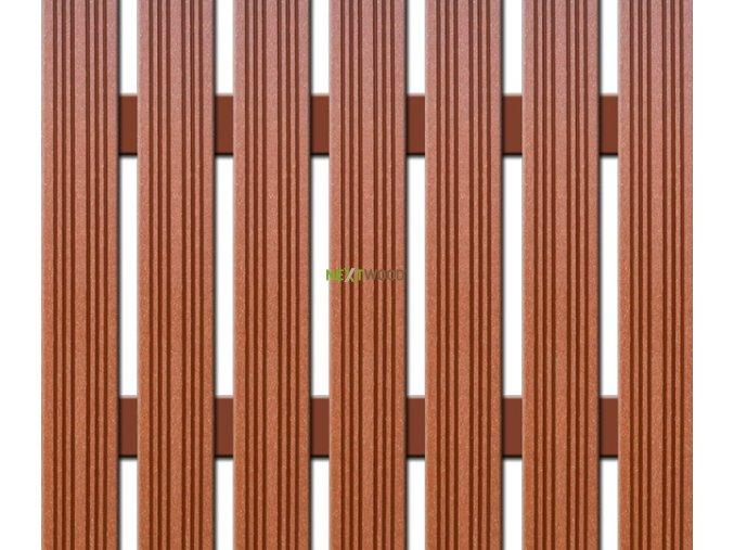 WPC úzká plotovka Nextwood, třešeň