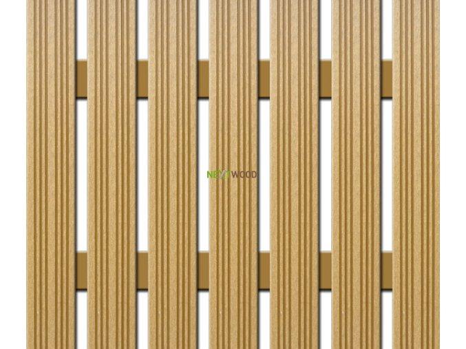 WPC úzká plotovka Nextwood, dub