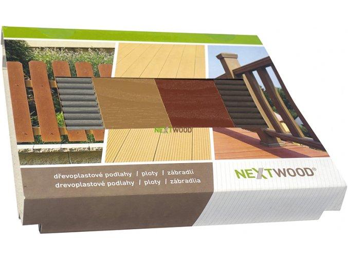 WPC vzorník podlahových a terasových prken NEXTWOOD