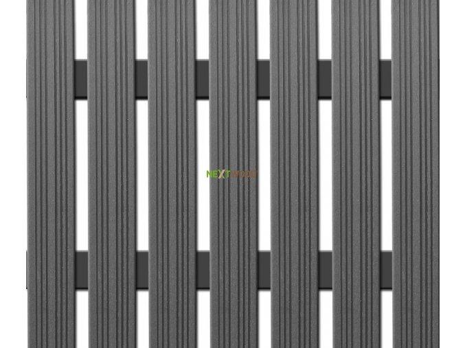 WPC úzká plotovka Nextwood, šedá