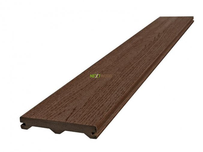 WPC terasové prkno Nextwood FULL LINE, hnědá