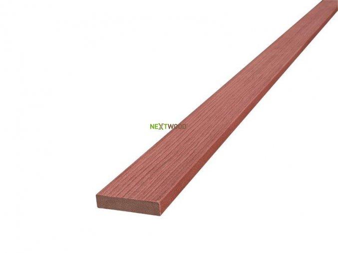 WPC terasová lemovací lišta Nextwood FULL line, třešeň