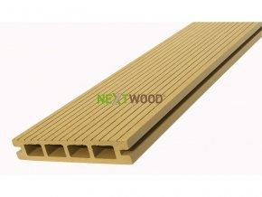 WPC podlahové terasové prkno Nextwood, dub
