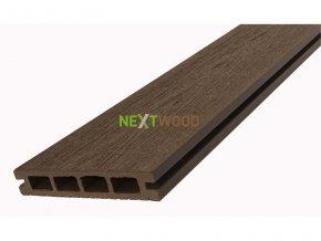 WPC podlahové terasové prkno Nextwood, wenge