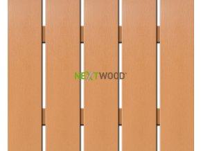 WPC široká plotovka Nextwood, olše