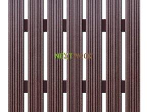 WPC úzká plotovka Nextwood, wenge