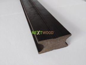 WPC podlahový terasový hranol Nextwood 3D line