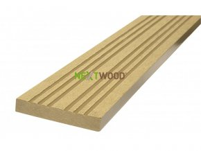 WPC terasová lemovací lišta Nextwood, dub