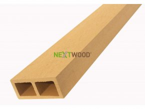 WPC vodorovný plotový nosník Nextwood - olše