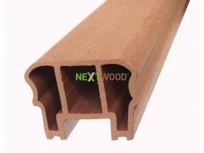 WPC zábradlové madlo Nextwood, třešeň