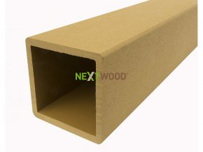 WPC svislý zábradlový sloupek Nextwood, dub