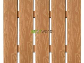 WPC široká plotovka 3D line Nextwood, olše
