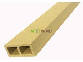 WPC vodorovný plotový nosník Nextwood - dub