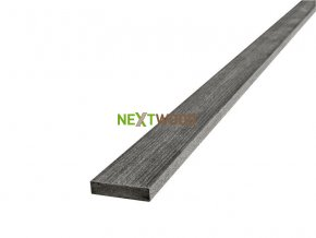 WPC terasová lemovací lišta Nextwood FULL line, grafitová
