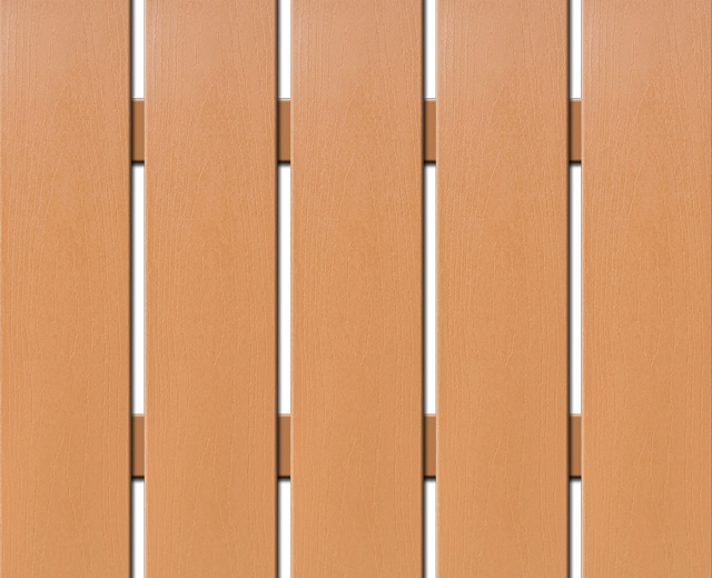 WPC plotovka Nextwood, šířka 139 mm, barva olše Výška: 1,2 metru