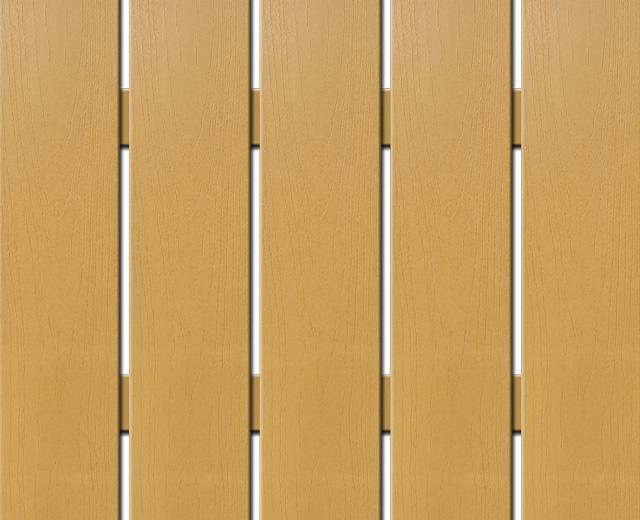 WPC široká plotovka Nextwood, výška 1,2 až 2 metry, barva dub • 139x9x1200 až 2000 mm Výška: 1,2 metru