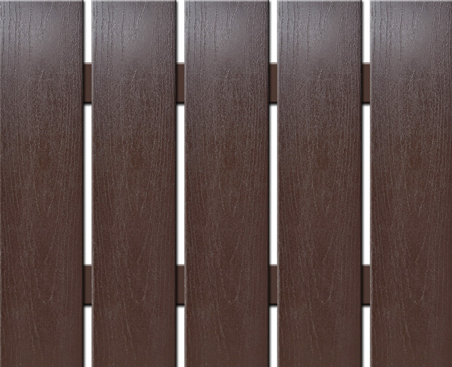 WPC široká plotovka Nextwood, výška 1,2 až 2 metry, barva wenge • 139x9x1200 až 2000 mm Výška: 1,2 metru