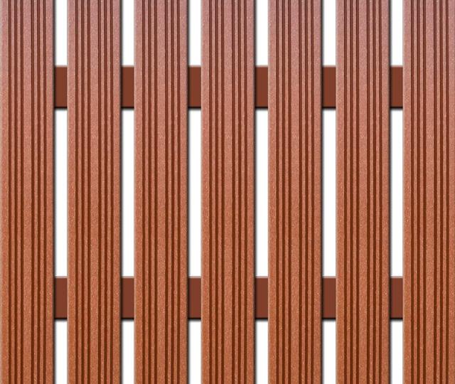 WPC plotovka Nextwood, šířka 72 mm, barva třešeň Výška: 1,2 metru