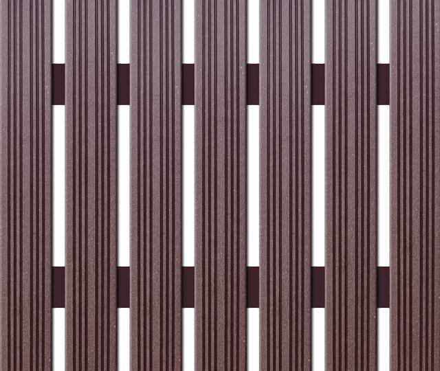 WPC plotovka Nextwood, šířka 72 mm, barva wenge Výška: 1,2 metru
