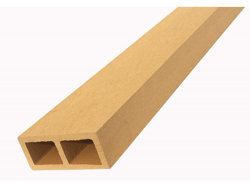 WPC vodorovný plotový nosník Nextwood, odstíny olše - třešeň - dub - wenge • 88x38x2000 mm Odstín: olše