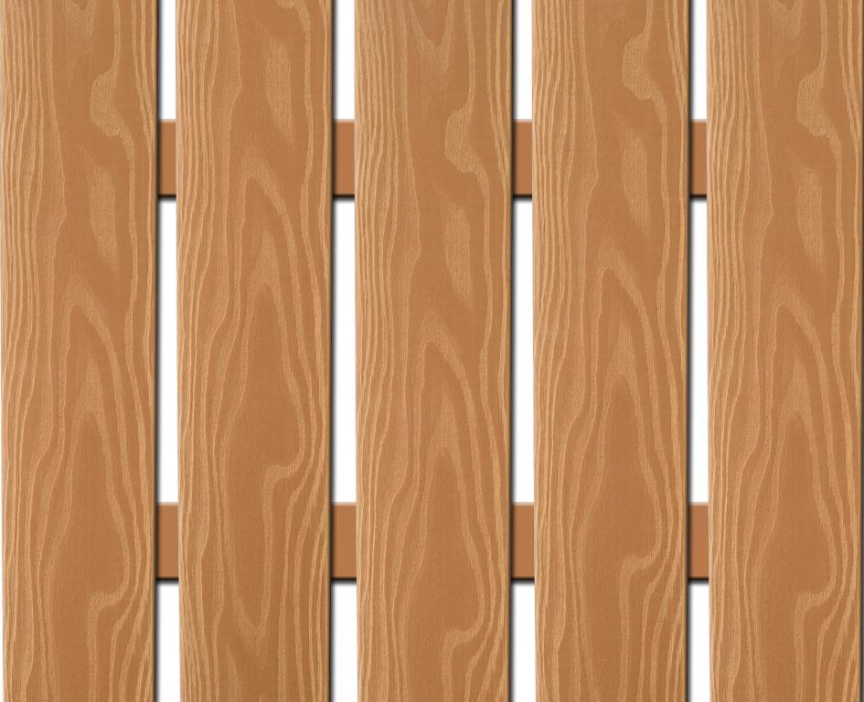 WPC plotovka 3D line Nextwood, šířka 139 mm, barva olše Výška: 1,2 metru
