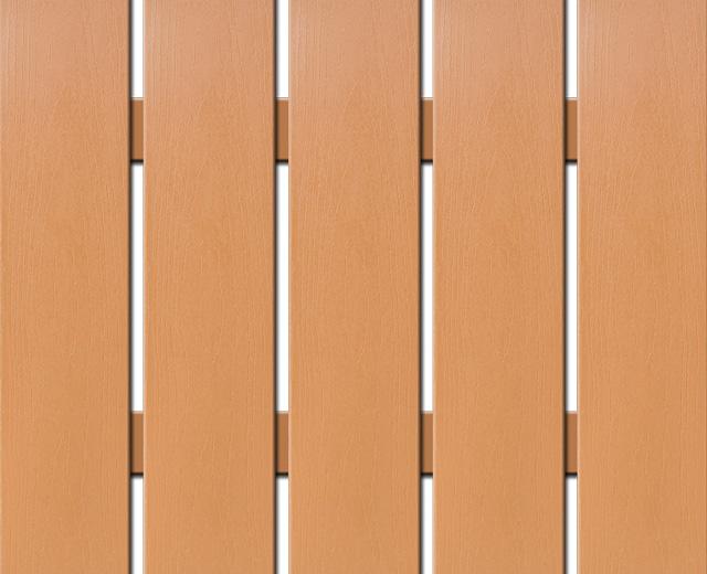WPC plotovka Nextwood, šířka 139 mm, barva olše, délka 80 cm