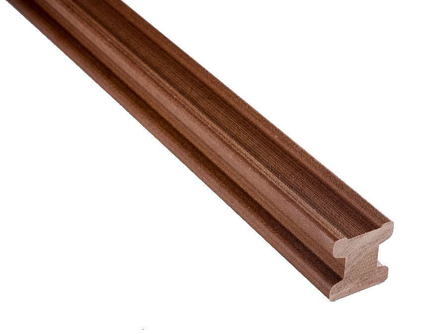 WPC terasový podkladový hranol NEXTWOOD, zesílený - 3000 mm