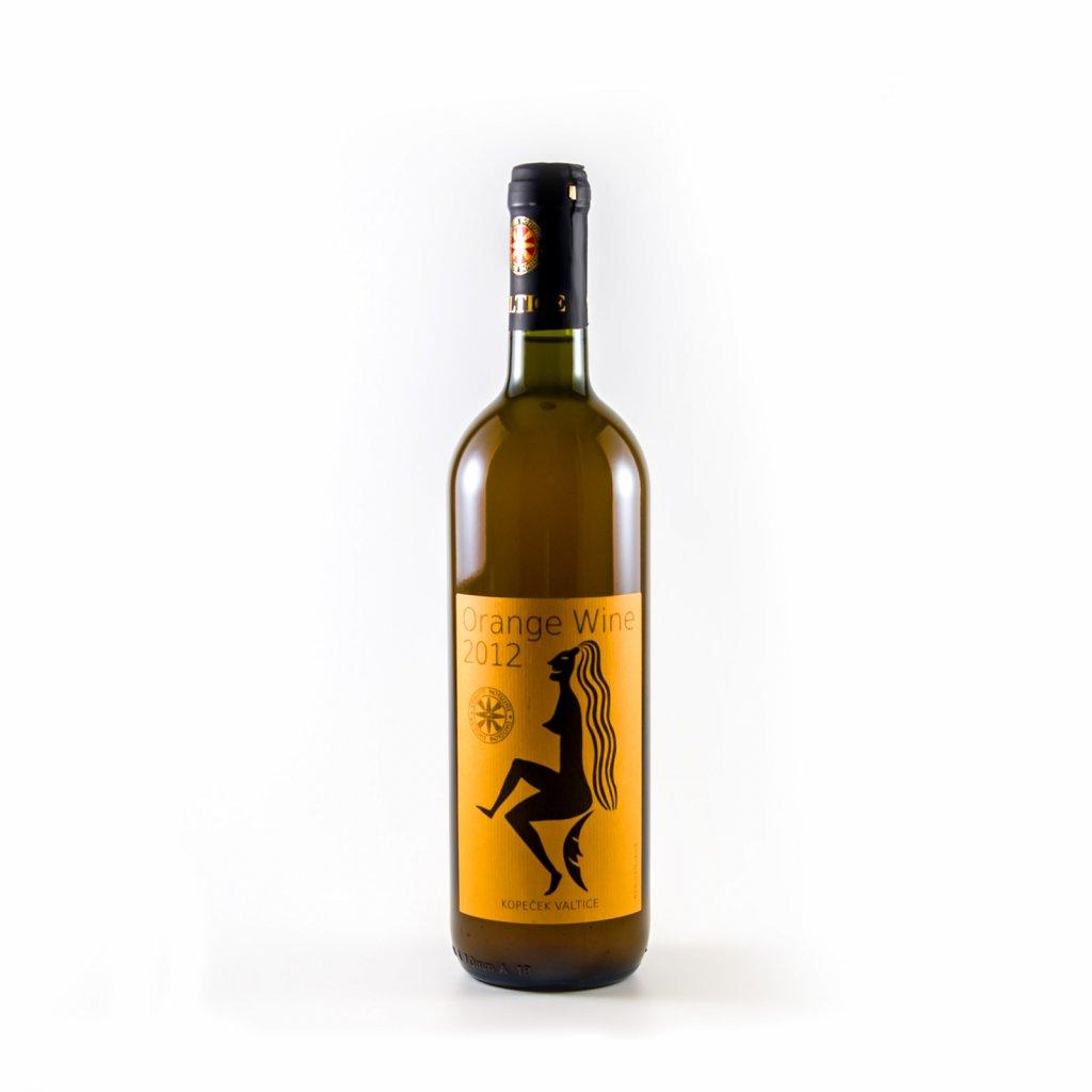 Orange wine - nefiltrované 2012 * Jiří Kopeček