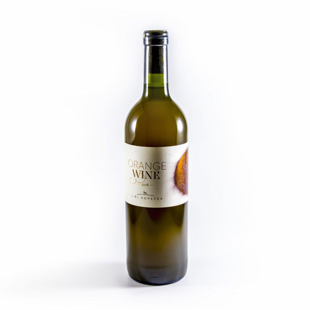 Orange wine - nefiltrované 2018 * Jiří Kopeček