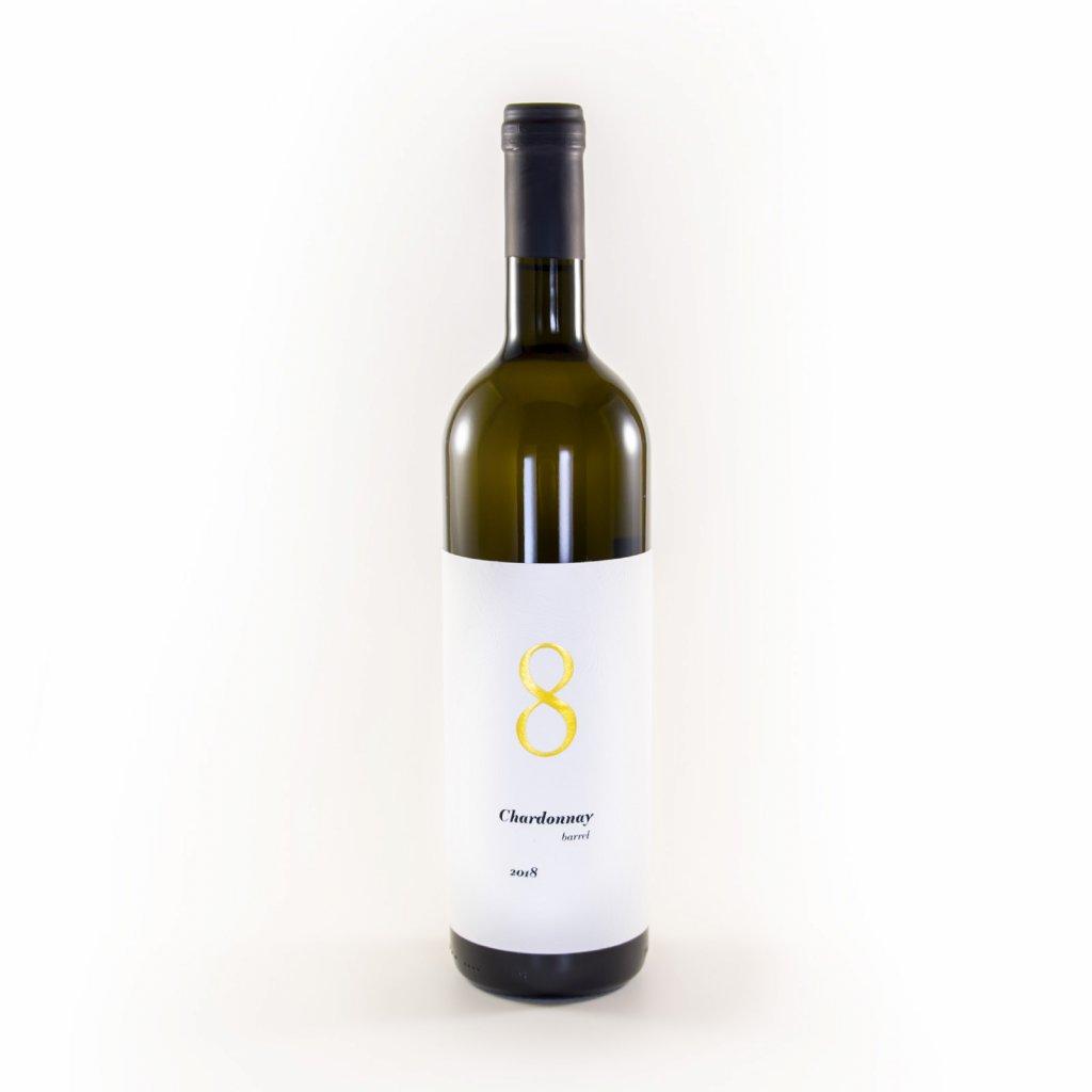 Chardonnay barrel 2018/ Pozdní sběr * Zbyněk Osička