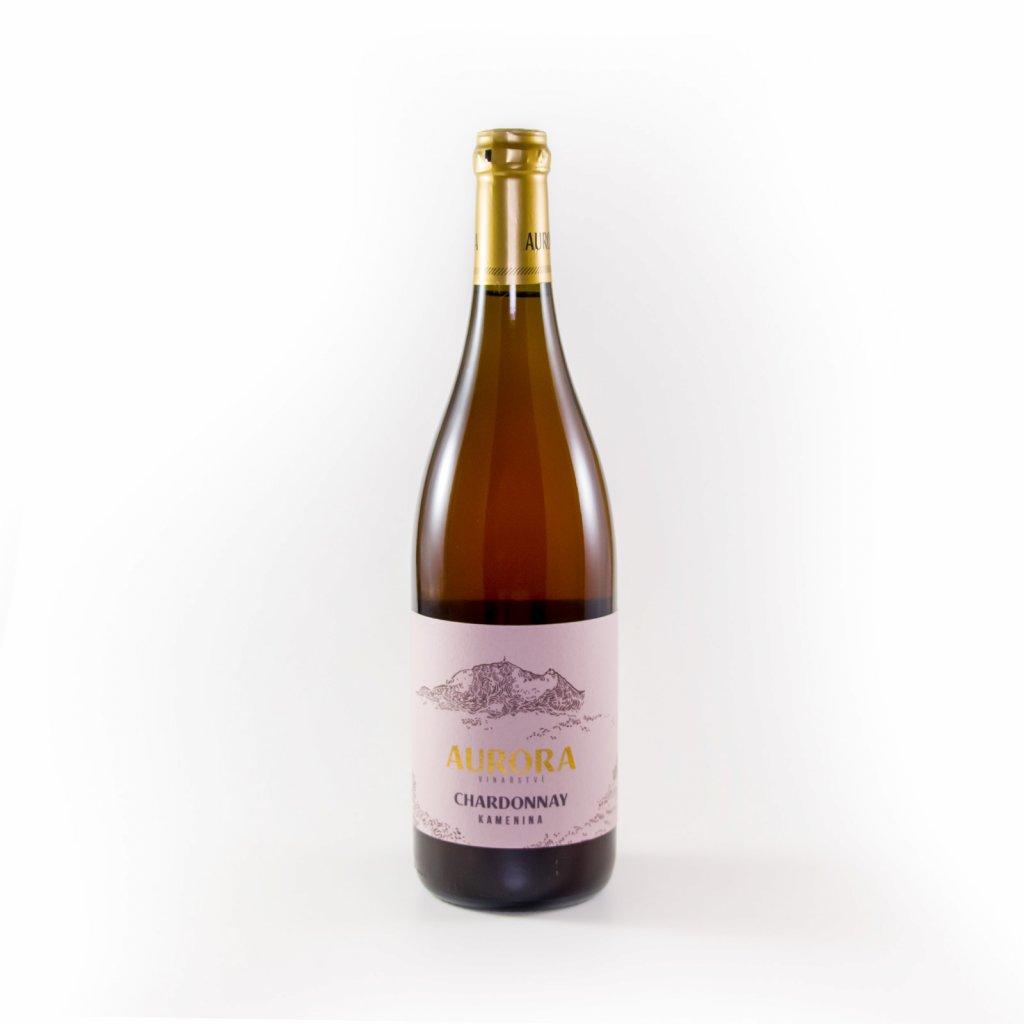 Chardonnay z kameniny - přírodní nefiltrované 2018 * Aurora