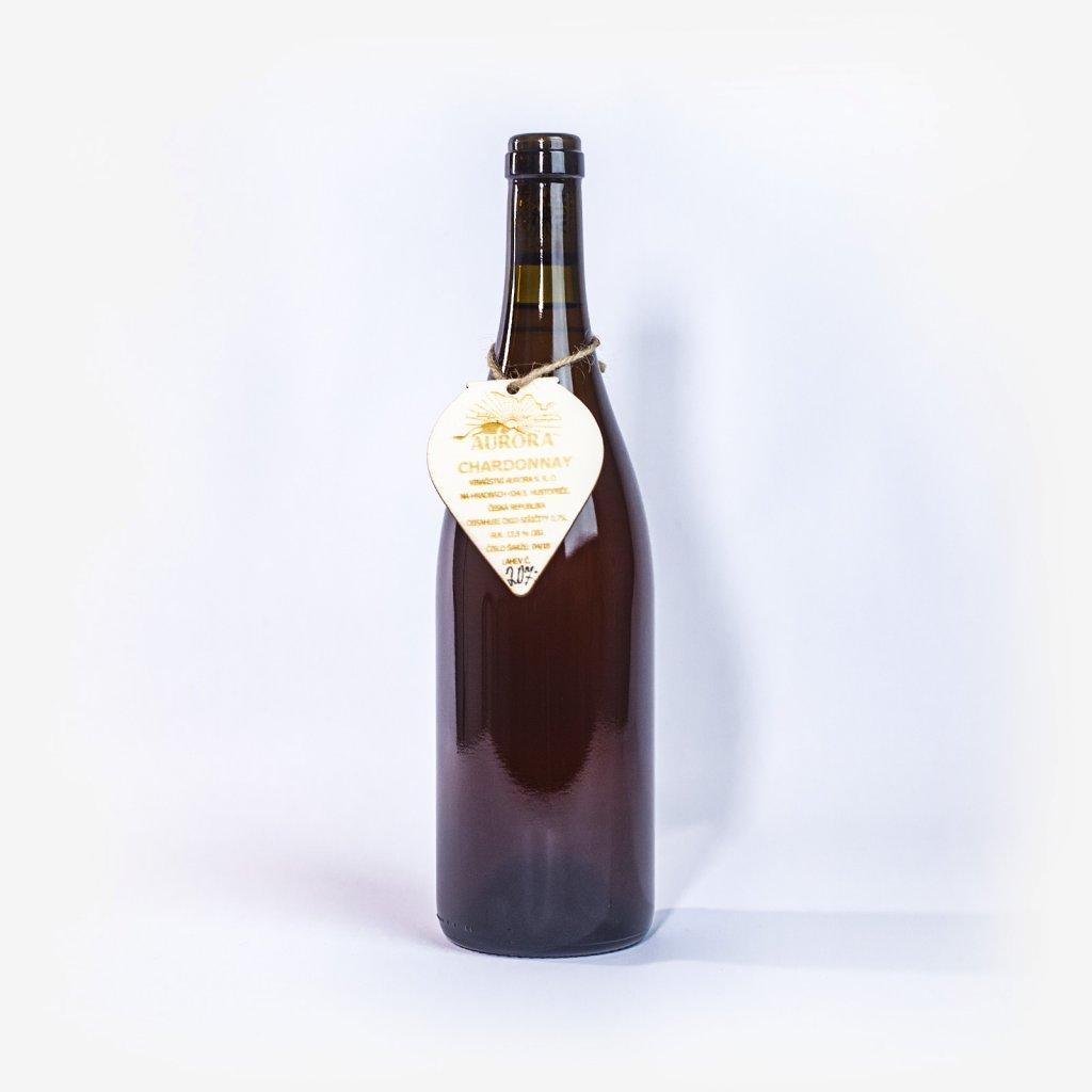 Chardonnay z kvevri - přírodní nefiltrované 2018 * Aurora