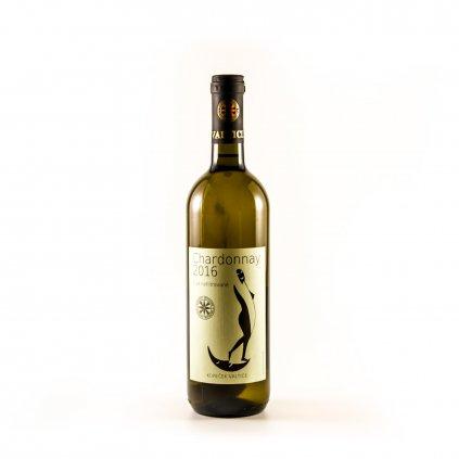 Chardonnay nefiltrované 2016 * Jiří Kopeček