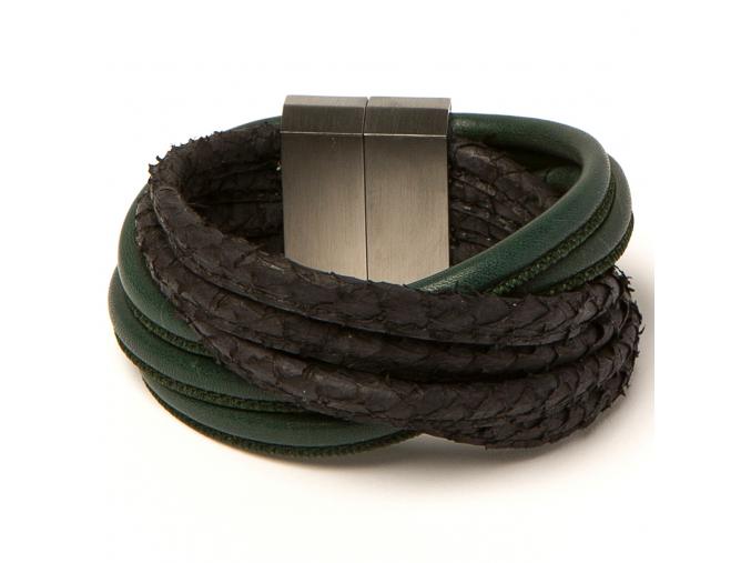 Bracelet CuffLightTwist AgaveBla